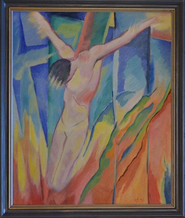 0170 Jeesus ristillä