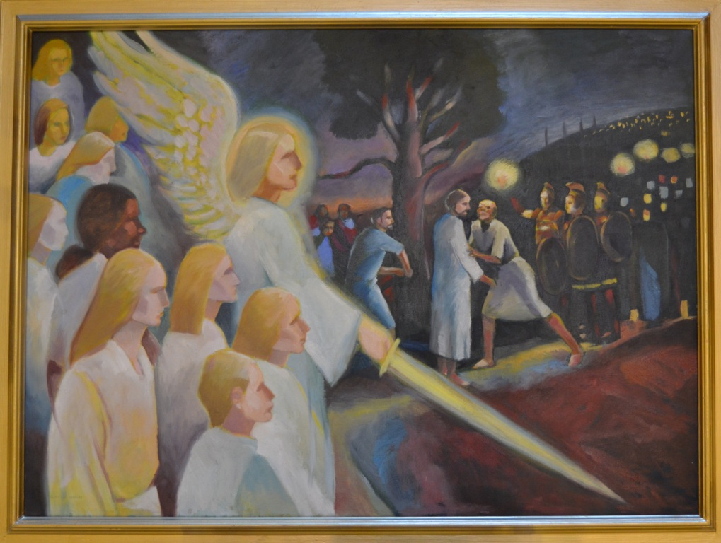 0340 Jeesuksen vangitseminen Getsemanen puutarhassa
