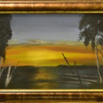 387 Mereen vaipuu aurinko