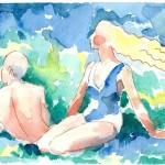 519 (Rakastavaiset rannalla)