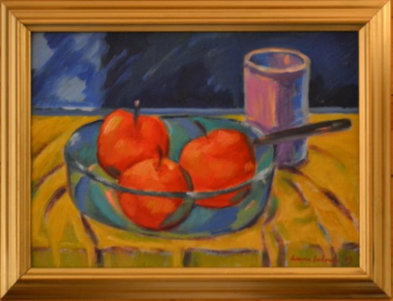 118 Omenoita kulhossa