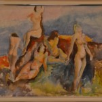 198  Naisia rannalla