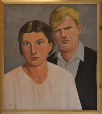 242 (Martti Salmelan ja Laine Niemelän kihlajaiskuva)