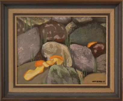 245 (Mandariininkuoret kivikossa)
