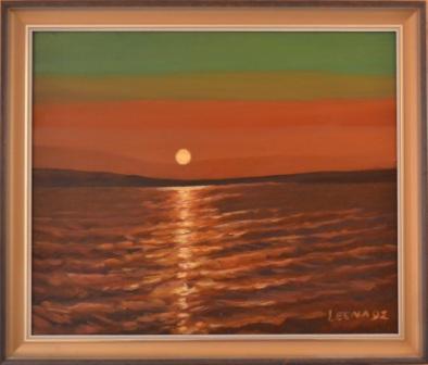 249 Auringonlasku Räyringin järvellä