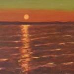 266 Auringonlasku Räyringin järvellä