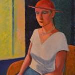 286 (Nainen punaisessa hatussa)