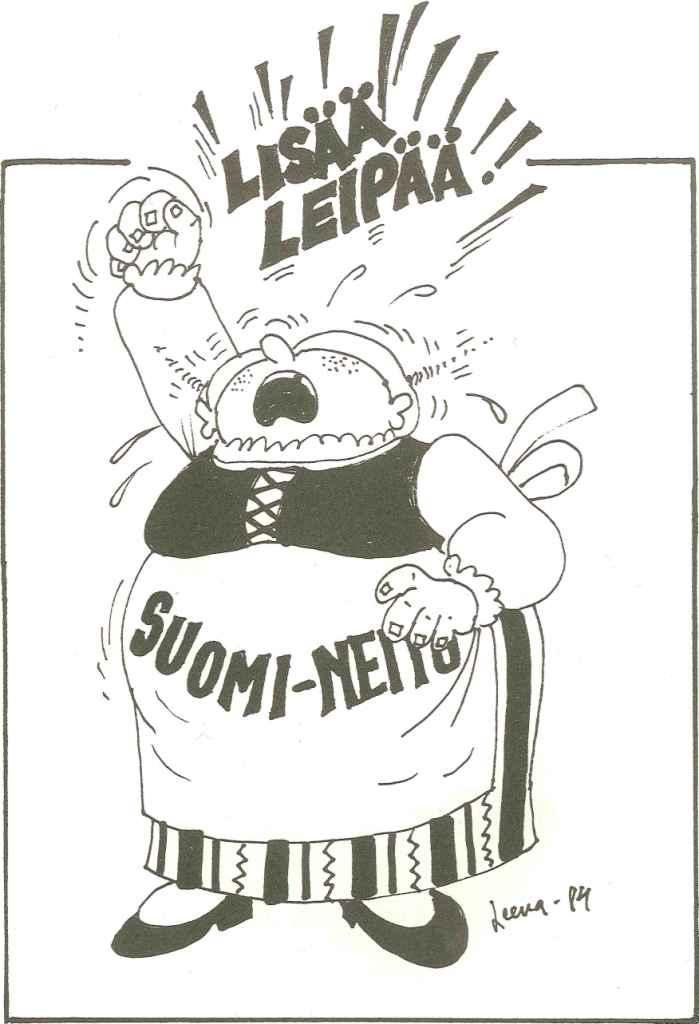 LL004W - Suomi neito haluaa lisää leipää